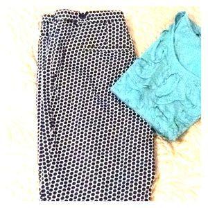 Pants - Printed walking shorts